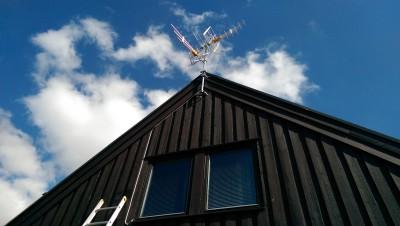 Nya antenner för Boxermottagning med de fria Danska kanalerna.